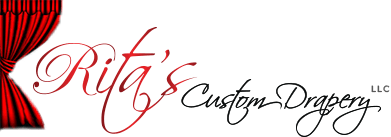 Rita's Custom Drapery Richardson logo