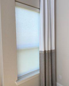 Elegant window, example of interior design in Richardson